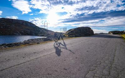 Villmark fra et sykkelsete
